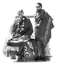 Swami Sivananda und Swami Vishnu Devananda