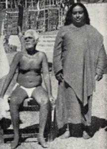 Yogananda und Ramana