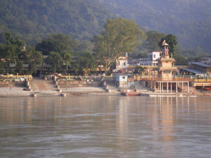 Ganga in Rishikesh