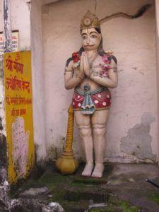 Hanuman in Rishikesh