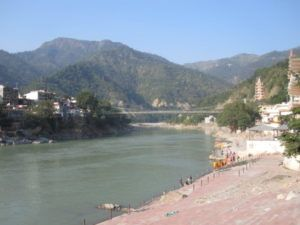 Rishikesh am Ganges