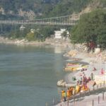 Rishikesh- Pilgerort am Ganges.