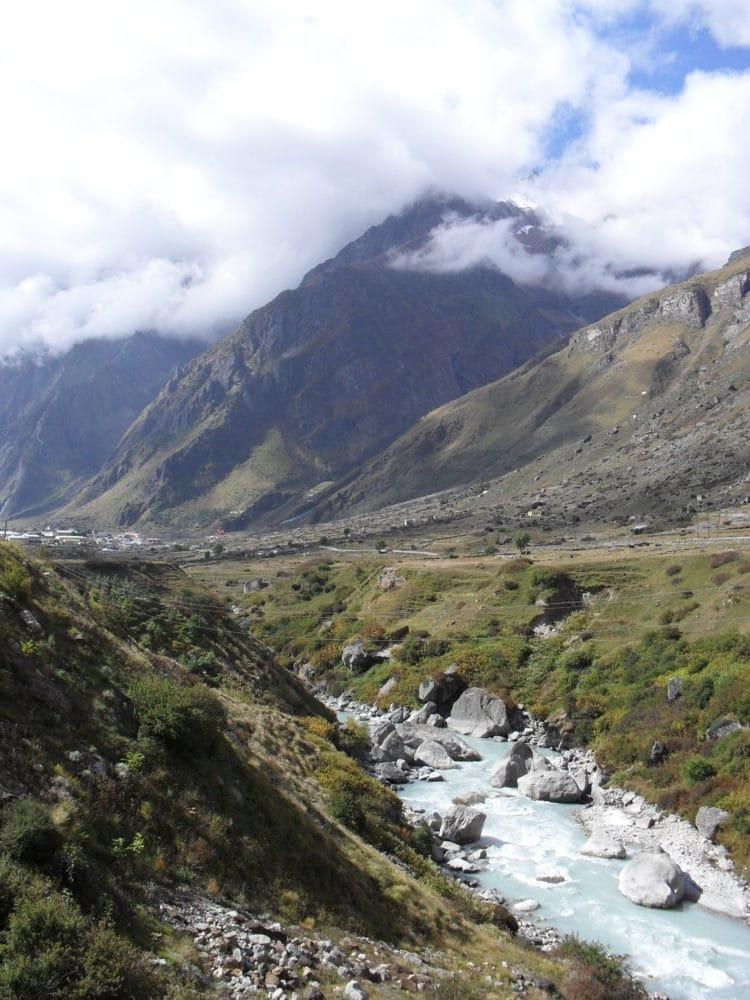 Weg der Pandavas zum Berg Meru