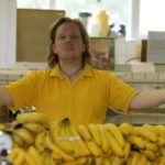 Fotosession mit Bananen