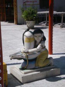 Markandeya und der Shiva Lingam Tryambakam
