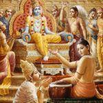 Krishna und Narada Muni