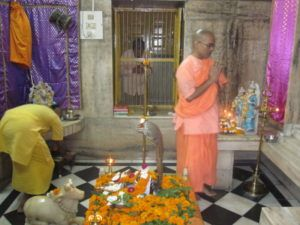 Rituale im Sivanandaashram