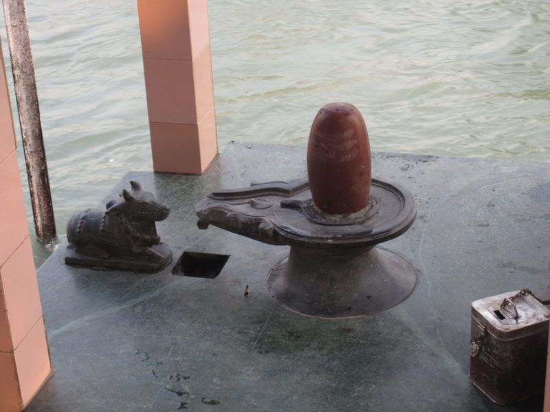 Shivalingam.Haridwar.Ganga.