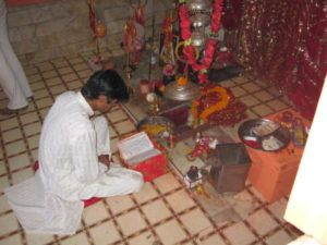Shivalingam im Kujjar-Puri Tempel