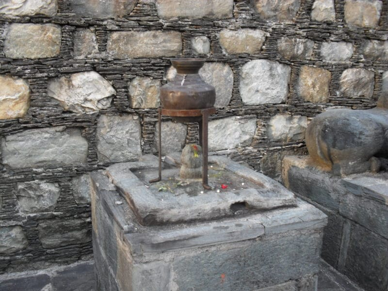 alter Lingam in Gopeshwar