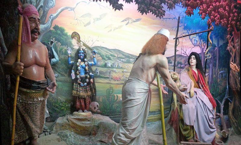 Kali Story in einem Erlebnispark in Haridwar