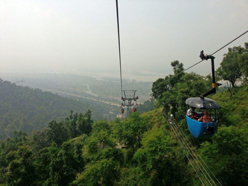 Seilbahn zum Mansa Devi bei Haridwar