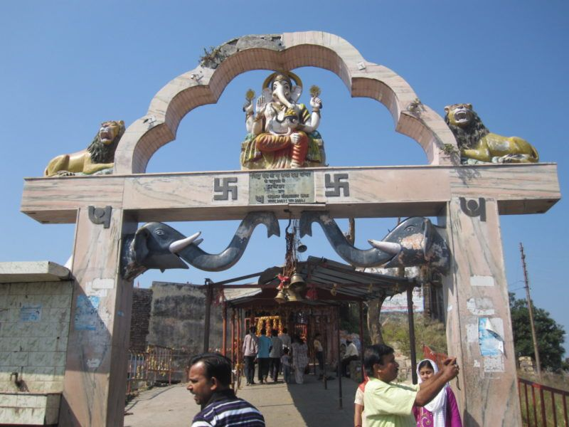 Mansa Devi Eingang