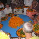 Ritual zu Ehren Swami Sivanandas