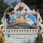 Vishnu ruht vor der nächsten Schöpfung