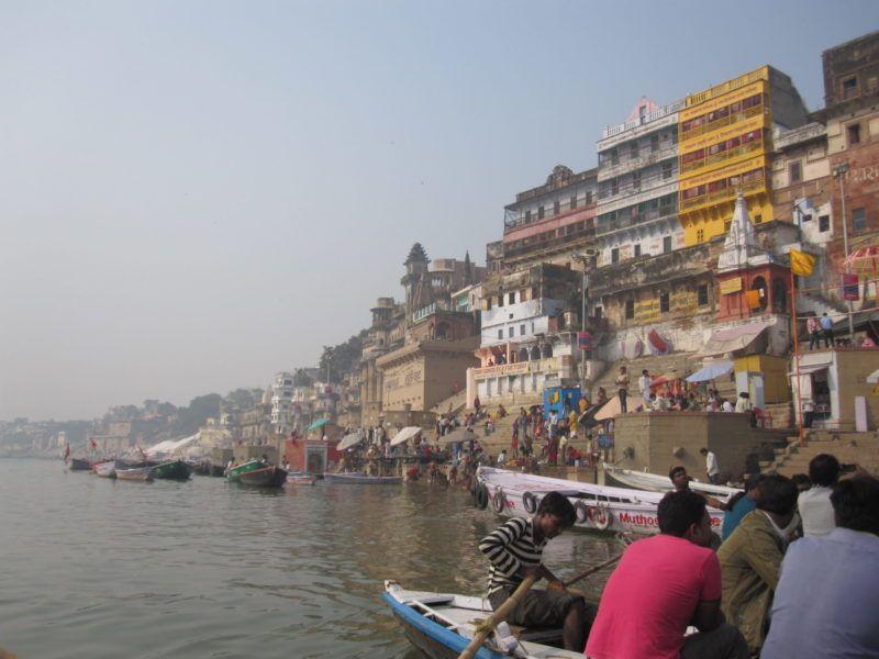 Bootsfahrt in Ganga Ma