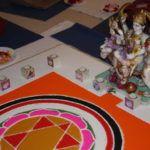 Durga Ma und ihr Yantra