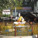 Shiva am Lakshmanjhula in Rishikesh