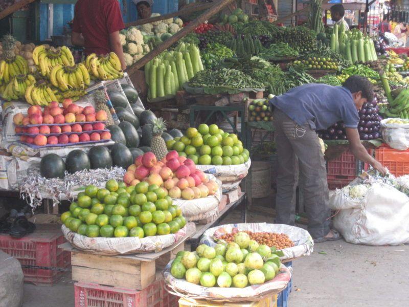 Gemüse, Obst, Früchte, Indien