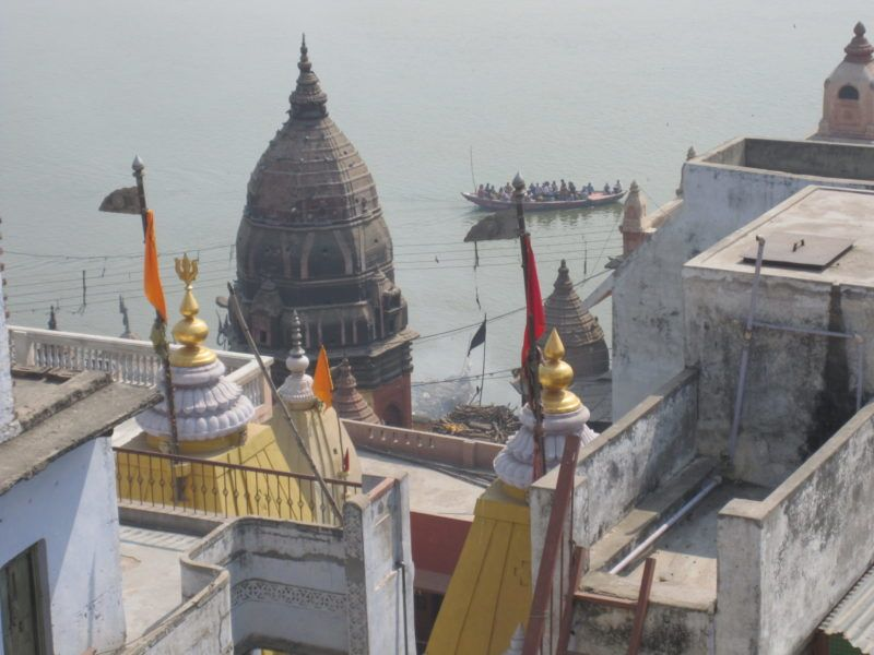 Varanasi, manikarnaka, Ghat, Manikarnaka Ghat, Verbrennungs Platz, Krematorium