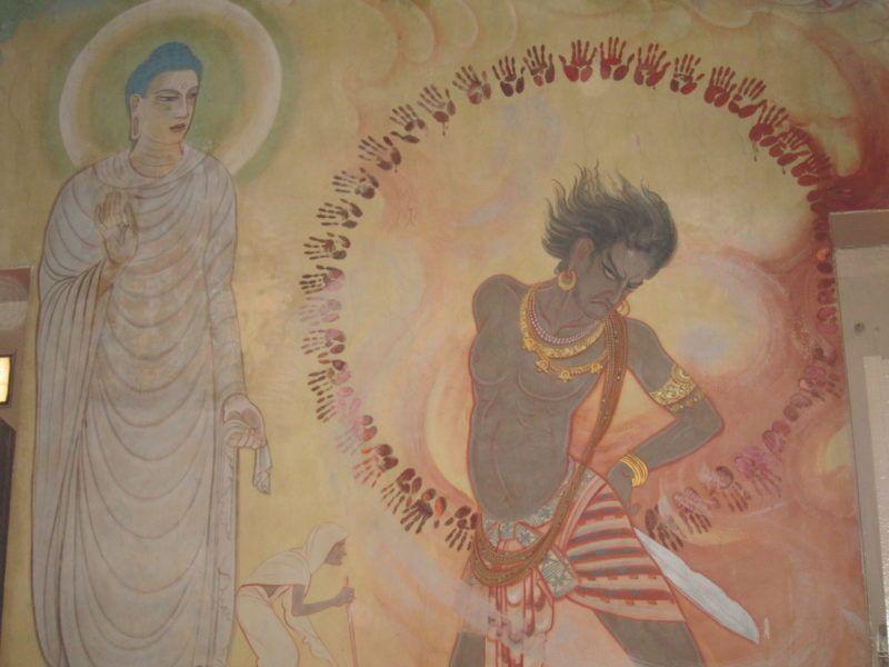Buddha, Dämonen, Asuras, Sarnath