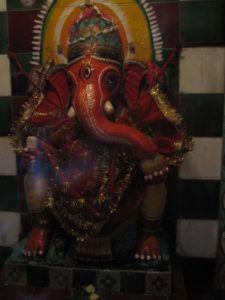 Ganesha, Ganapati, Ekadanta, Mini Tempel
