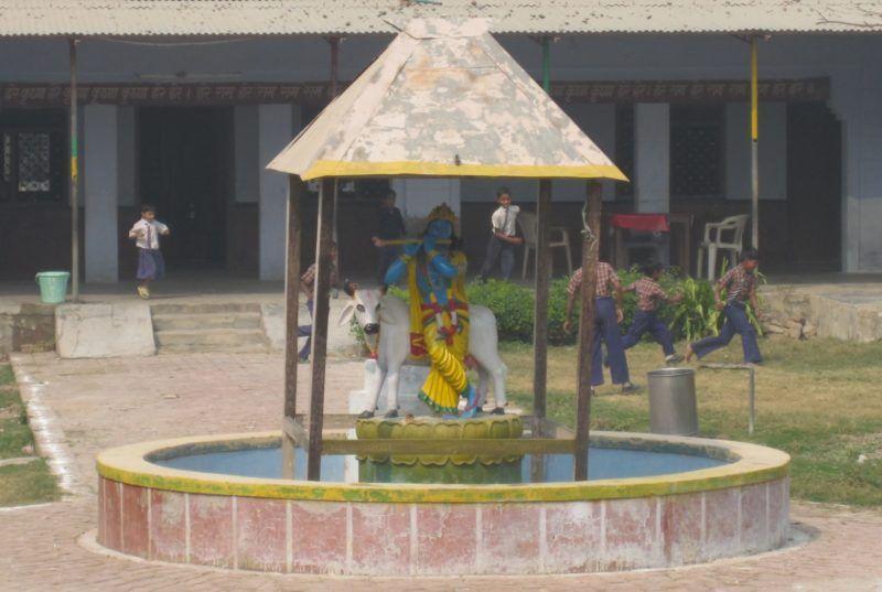 Krishna, Vasudeva, Gopala, Govinda, Krishna mit Flöte und Kuh