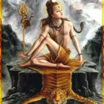 Shiva in Matsyendrasana