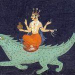 Varuna, Wassergott, vedische Götter, devata, Strahlender