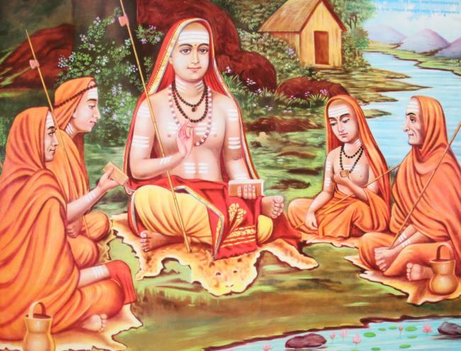 shankara Spiritueller Lehrer