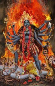 Kali und Mahadev