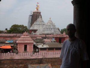 Benjamin Heimann in Jaganath Puri