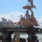 die Vorgeschichte der Bhagavad Gita aus dem Mahabharata