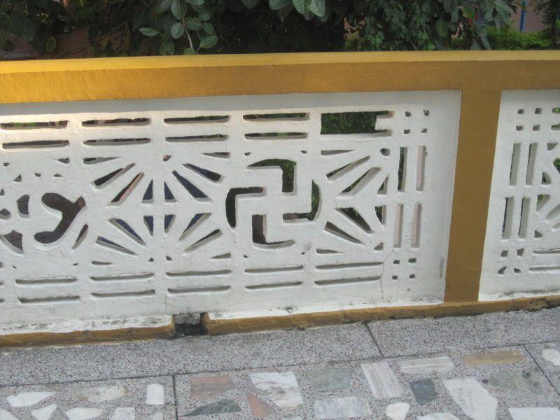 Hakenkreuz Geländer