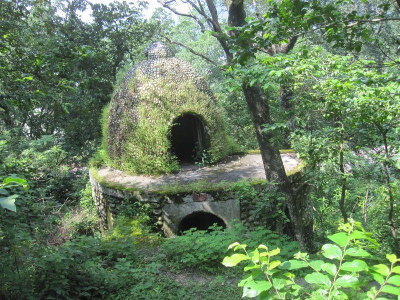 Meditations Hütte im Beatles Ashram