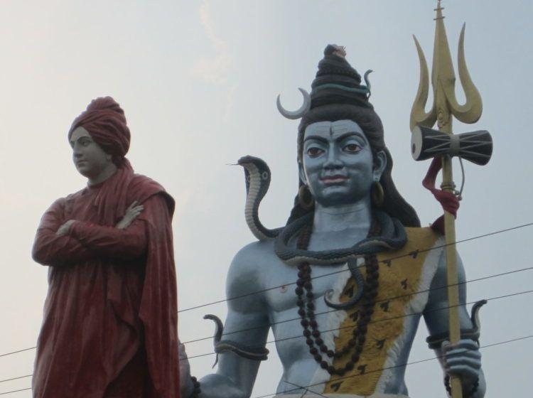 Vivekananda und Mahashiva in Haridwar