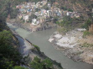 Devprayag, Bhagirati und Alakananda werden zu Ganga Ma