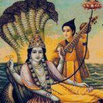 Brahma – vierköpfiger Schöpfergott des Hinduismus