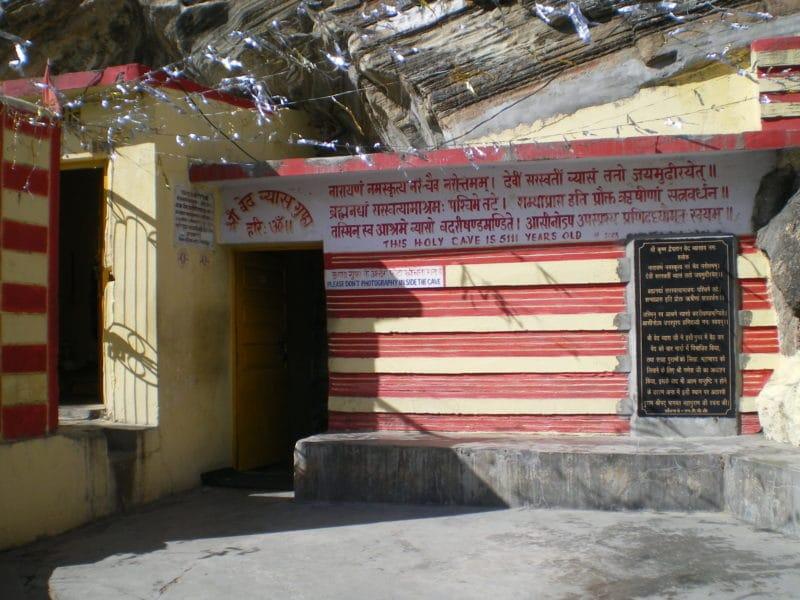 Eingang zur Vyasa Höhle