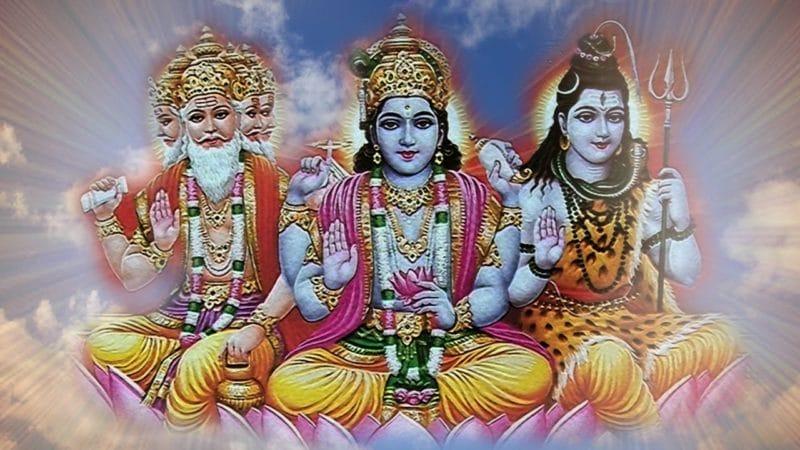 Trimurti: Brahma, Vishnu & Shiva