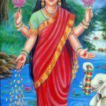 Sri Lakshmi, Mahalakshmi – die Göttin von Füllle, Reichtum, Glück & Schönheit